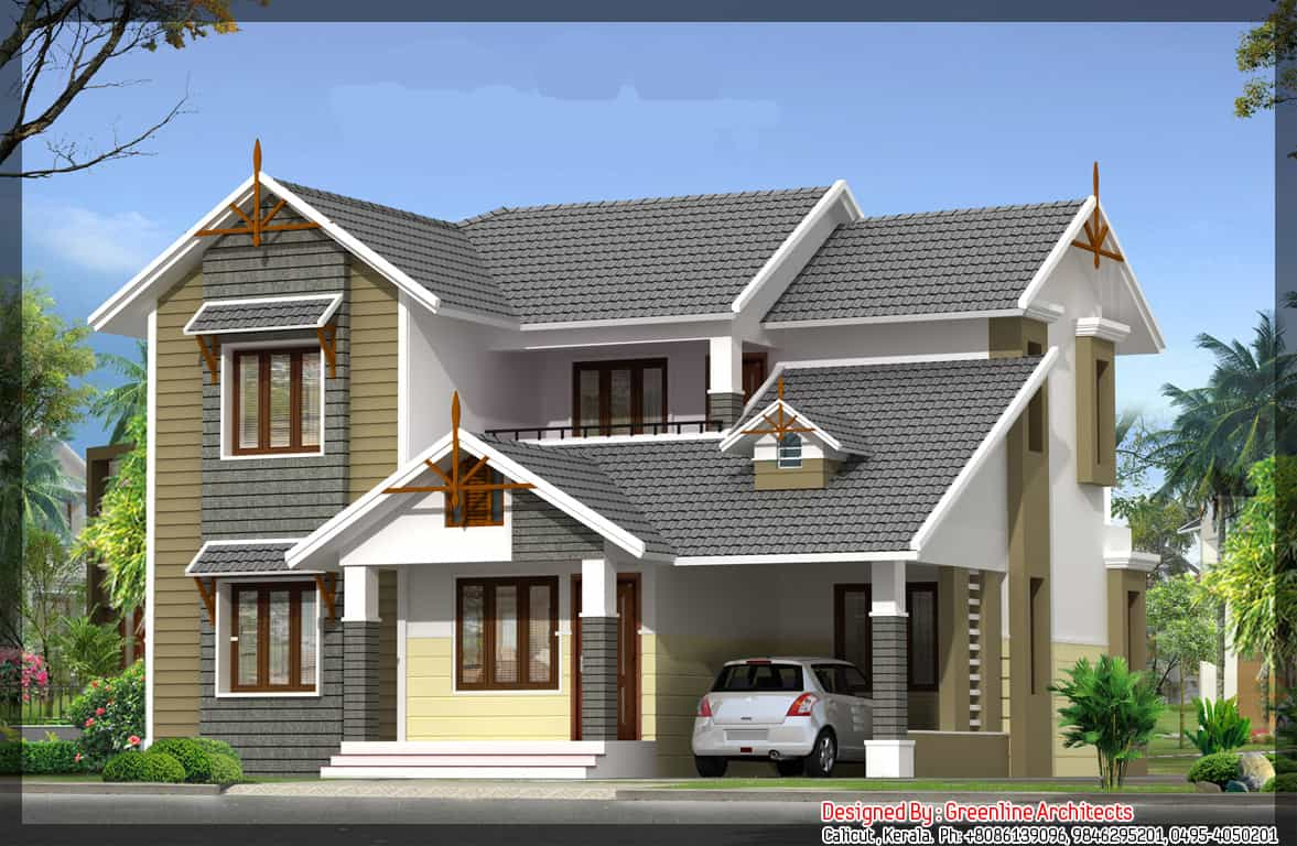 kerala house plans kerala model home plans with photos elevation