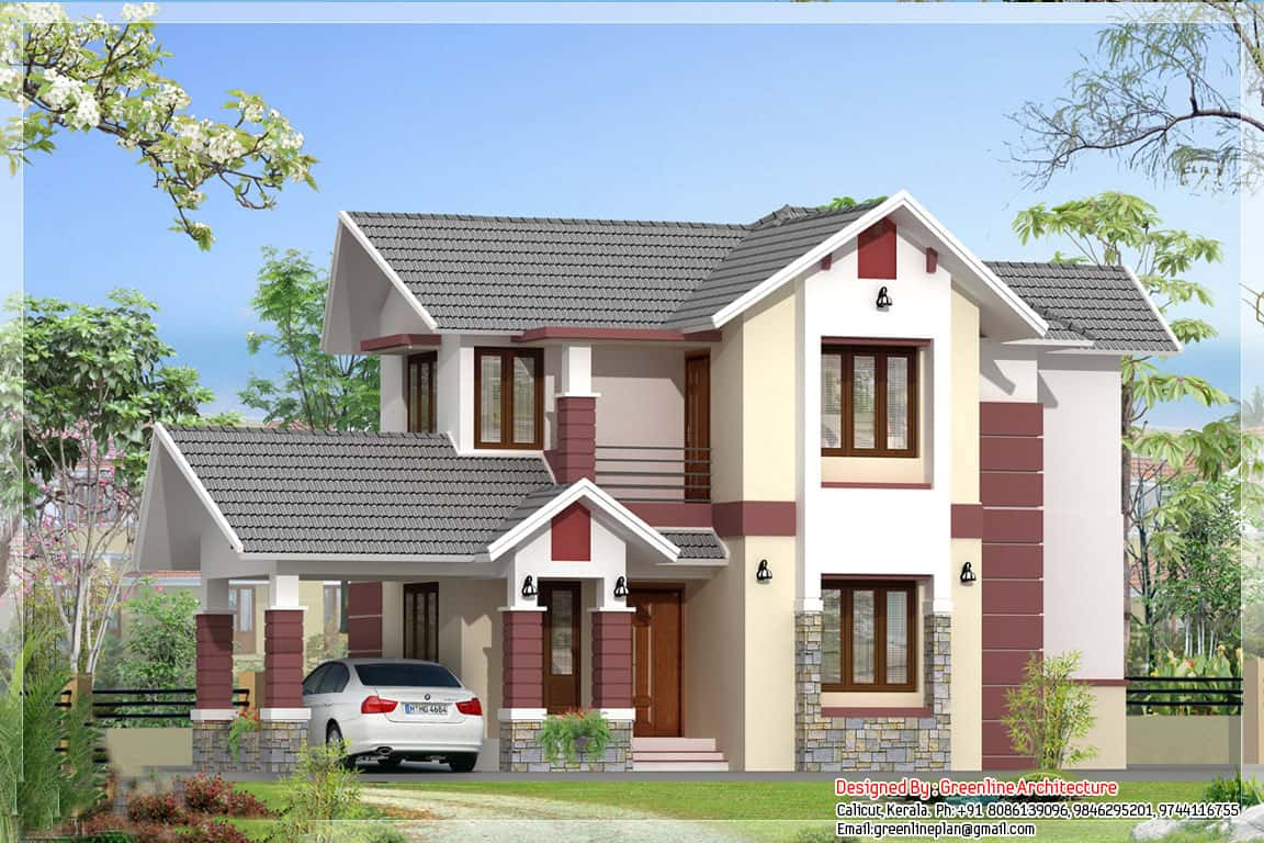 3 bedroom kerala house plans elegant design 1700 sq ft On kerala house elevation
