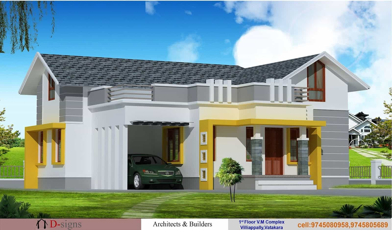 ... More modern house plan 2800 sq ft kerala home design and floor plans